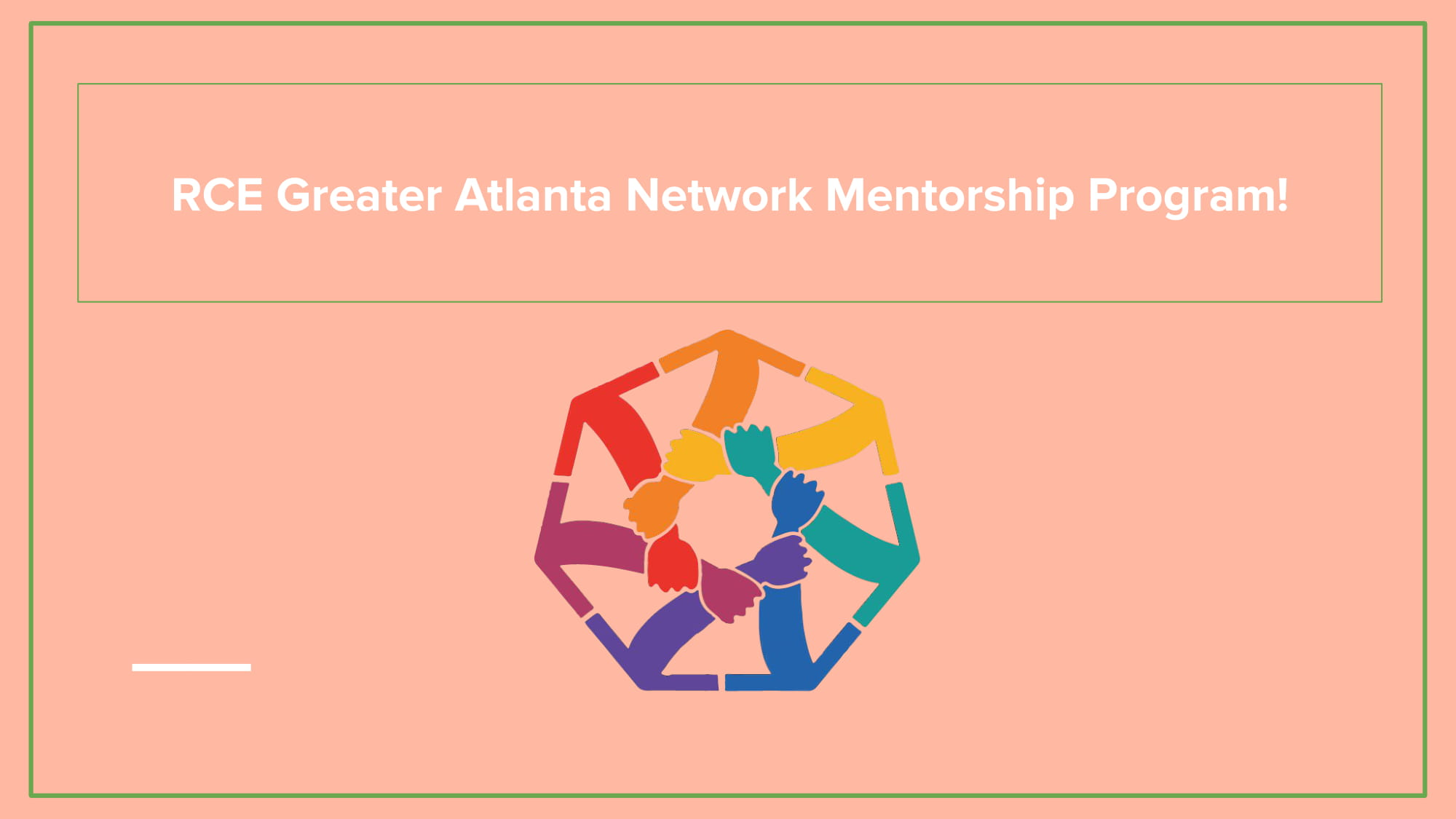 RCE Mentorship Program Presentation